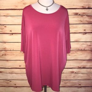 LuLaRoe Rose Slinky Irma Tunic Top